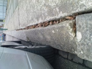 Selbie Avenue Damaged Curb