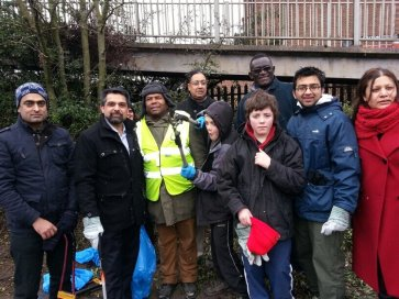 Neasden Clean up day