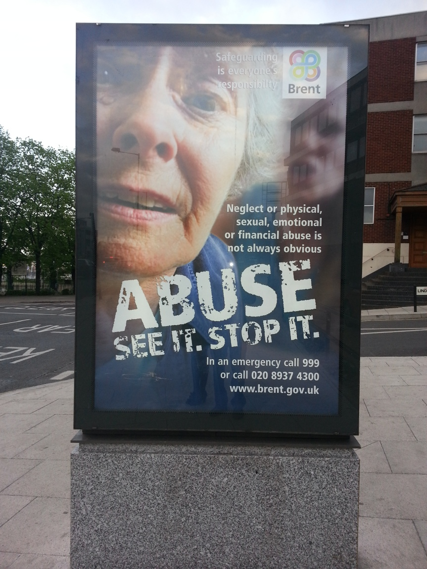 abuse poster