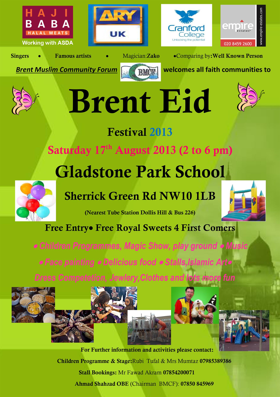Southwark Eid festival, Wednesday 6th July | Tabard ... |Eid Festival Poster
