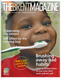 TBM oral health front page