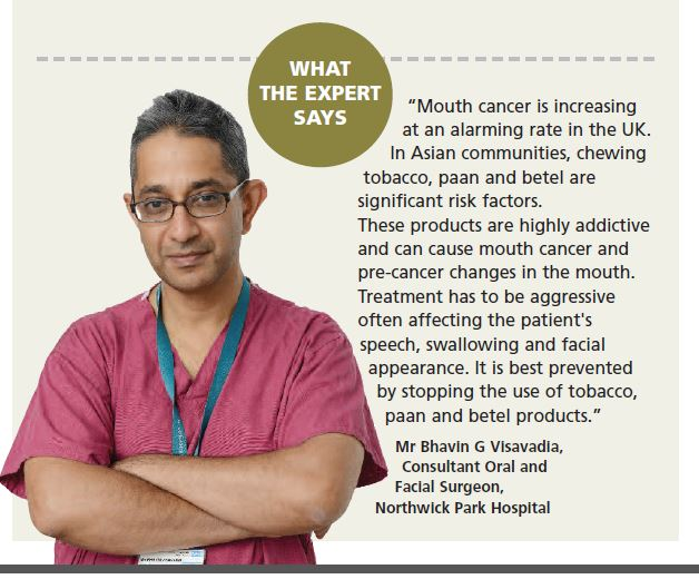 expert opinion on tobacco paan