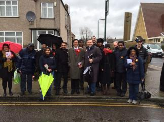 Kenton campaigning march 2015
