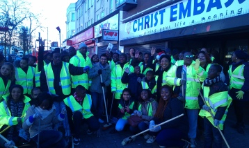 Clean up day with Christ Embassy Neasden