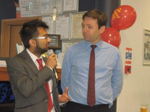 Introducing Andy Burnham to Brent