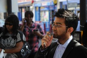 Speaking at Health Rally in Harlesden