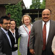 With Brent Neighbourhood Watch and Marting Luther King Jr