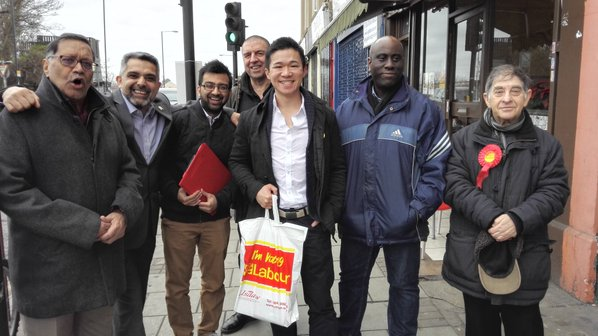 Polling Day today in Kensal Green