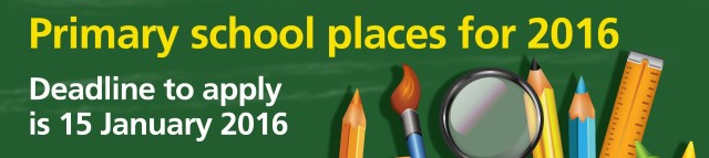 Primary school places deadline