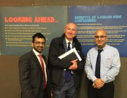 With Cllr Dickson and Cllr Tailor
