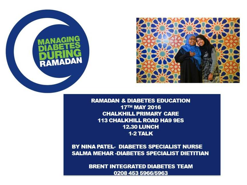 Ramadan  Diabetes Leaflet  2016