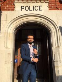 Taking part in St Luke's Hospice Jail and Bail fundraiser