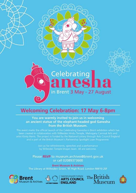 Celebrating Ganesha at WillesdenLibrary