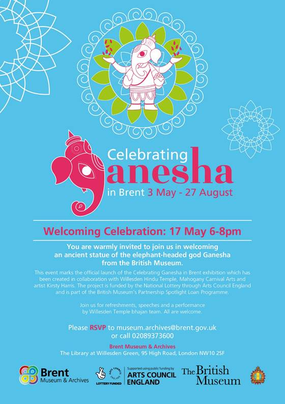 Celebrating Ganesha at Willesden Library