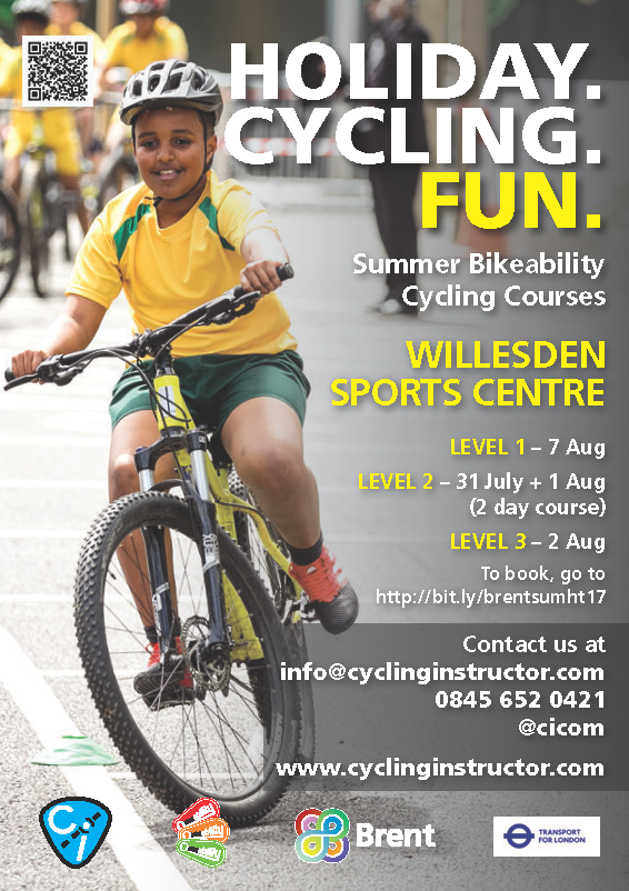 Brent Summer Holiday Bikeability 2017